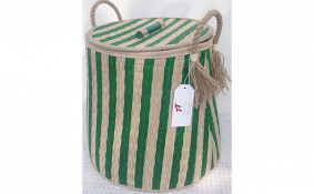 TT-190101 Seagrass basket with lid