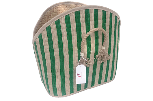 TT-190102 Seagrass basket, shape as it is