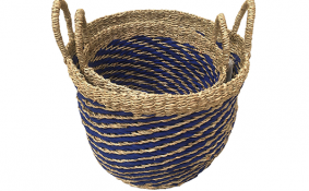 TT-190183/2 Seagrass basket, set 2
